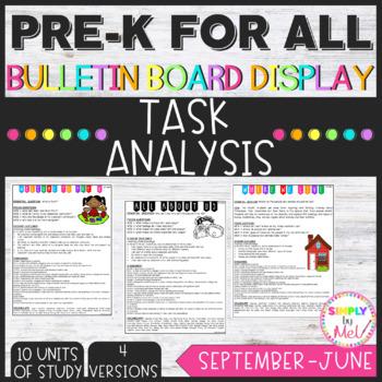 Task Analysis (PREK FOR ALL)