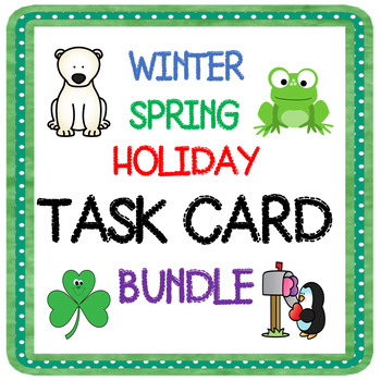 WINTER & SPRING TASK CARDS-WHICH DOES NOT BELONG?