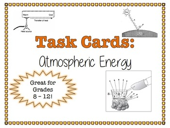 TASK CARDS - Atmospheric Energy
