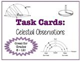 TASK CARDS - Celestial Observations