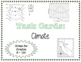 TASK CARDS - Climate