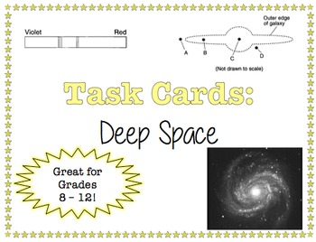 TASK CARDS - Deep Space