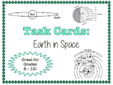 TASK CARDS - Earth in Space
