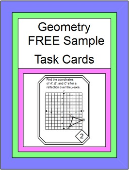 Free Downloads - TASK CARDS Geometry (16 card variety pack