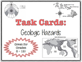 TASK CARDS - Geologic Hazards