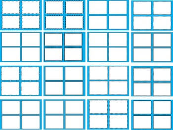 TASK CARDS OVERLAYS TEMPLATES- 50 TASK CARD CLIP ART TEMPLATES