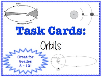 TASK CARDS - Orbits