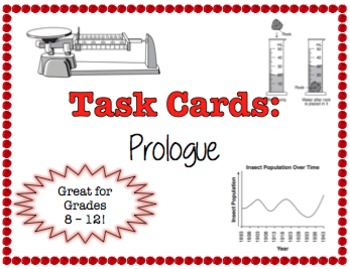 TASK CARDS - Prologue