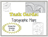 TASK CARDS - Topographic Maps