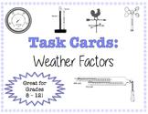 TASK CARDS - Weather Factors
