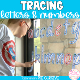 TASMANIAN PRE-CURSIVE Write & Wipe Alphabet and Numbers Set