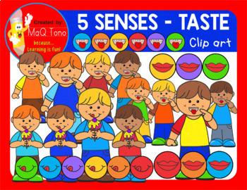 TASTE - FIVE SENSES CLIP ART