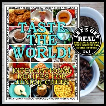 TASTE THE WORLD! International Recipes for Junior Chefs
