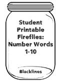 TAV: Fireflies Number Words 1-10