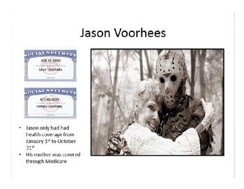 TAXES: Jason Voorhees Tax Return