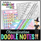 Taxonomic Classification Doodle Notes | Science Doodle Notes