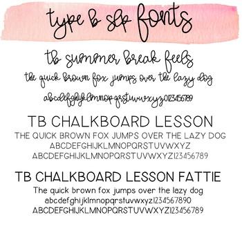 TB Fonts Personal & Commercial Use, Growing Bundle #bundlebonanza
