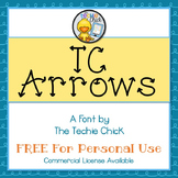 TC Arrows font - Personal Use
