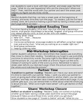 TC Building Good Reading Habits Grade 1 BEND 2 BUNDLE