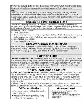 TC Building Good Reading Habits Grade 1 BEND 3 BUNDLE