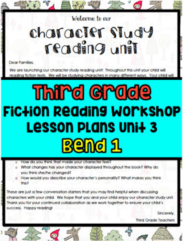 TC Character Study Reading Lesson Plans Grade 3