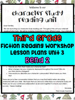 TC Character Study Reading Unit Lesson Plans Bend 2