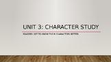 TC Character Study Unit Grade 3