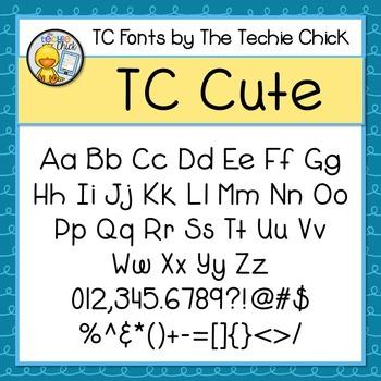TC Cute font - Personal Use