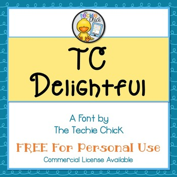 TC Delightful font - Personal Use