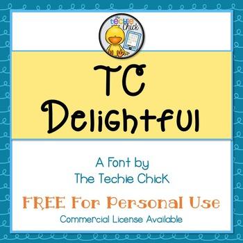TC Delightful font - Personal Use