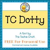 TC Dotty font - Personal Use