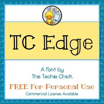 TC Edge font - Personal Use