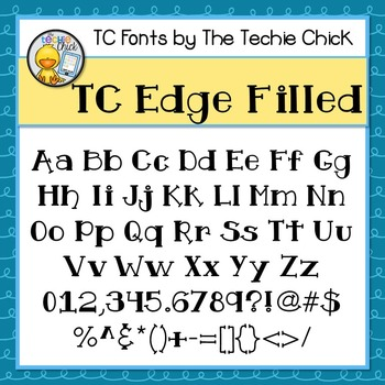 TC Edge font - Personal Use