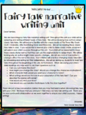 TC Fairy Tale Writing Lesson Plans 3rd Grade