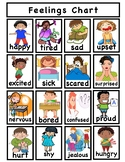 TC Feelings Charts Differentiated for different grades or levels