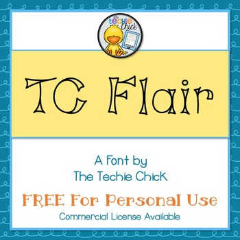 TC Flair font - Personal Use