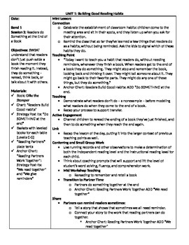 TC Grade 1 Unit 1 (Building Good Reading Habits) Session 2