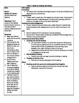TC Grade 1 Unit 1 (Building Good Reading Habits) Sessions 12-16