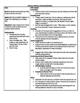 TC Grade 1 Unit 3 Readers Have Big Jobs to Do (Session 16-18)