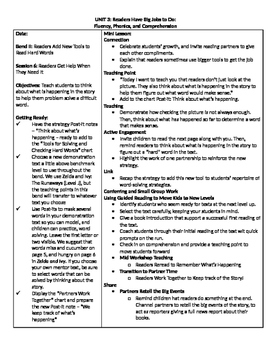 TC Grade 1 Unit 3 Readers Have Big Jobs to Do (Session 6-11)