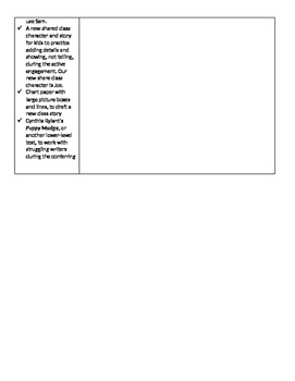 TC Grade 1 Unit 4 From Scenes to Series (Session 11-15)