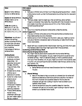 TC Grade 1 Unit 4 From Scenes to Series (Session 6-10)