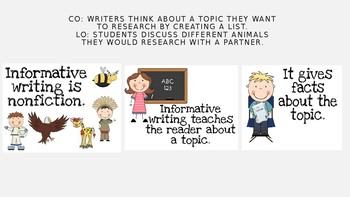 TC Grade 3 Research Clubs Writing