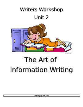 TC Grade 3 Writers Workshop- informational Writing