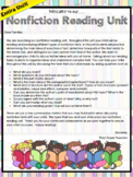 TC Information Reading Lesson Plans 3rd Grade