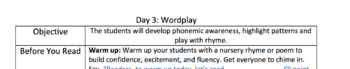 TC Inspired Shared Reading Lesson Plan Format