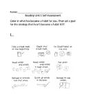 TC Inspired Student Self Assessment Building Good Reading