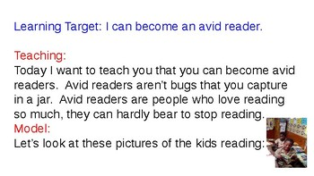 TC K Book 5: Becoming An Avid Reader