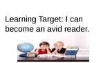 TC K Book 5: Becoming An Avid Reader