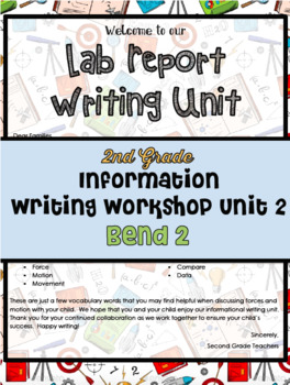 TC Lab Reports Informational Writing Workshop Lesson Plans Bend 2 Grade 2
